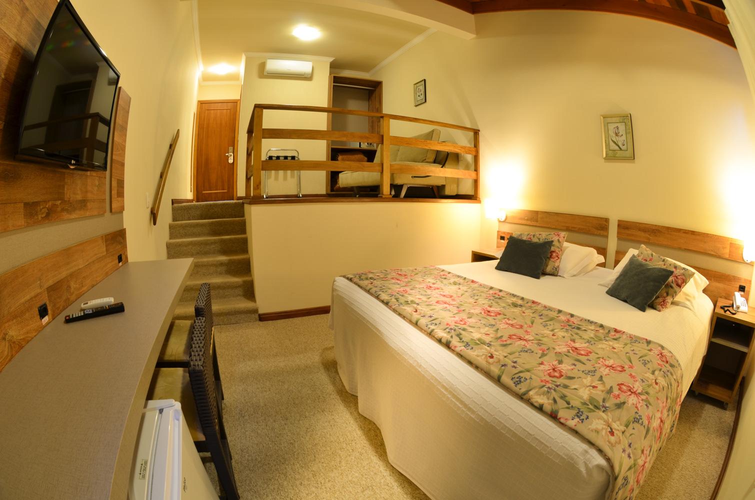 Quarto Duplo Deluxe Hotel Renascença ~ Quarto Solteiro Hotel